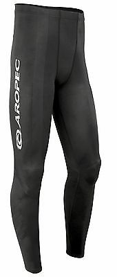 Mens Aropec Endurance Compression Tights Built in Kinesiology Tape