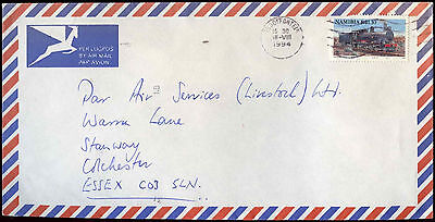 Namibia 1994 Commercial Air Mail Cover To England #C30393