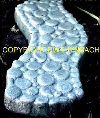 New Rubber Latex Mould Mold Moulds Faerie Fairy Fairie Garden Cobbled Path B