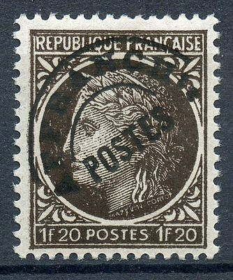 Stamp / Timbre France Preoblitere Neuf Sans Gomme N° 91  / Type Ceres