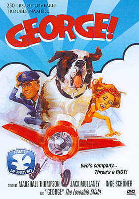 George (DVD, 2012) Marshall Thompson, George the St. Bernard