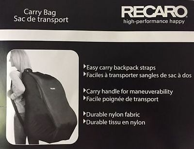 Recaro High Performance Happy Car Seat Carry Travel Bag Brand New!!
