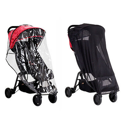 Mountain Buggy Nano All Weather Cover Set Includes Rain Cover & Sun Cover Brand!