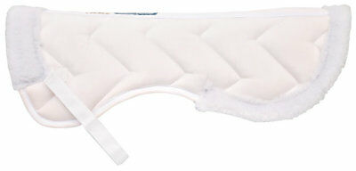 Lettia Collection Coolmax Half Pad, Large, White NEW