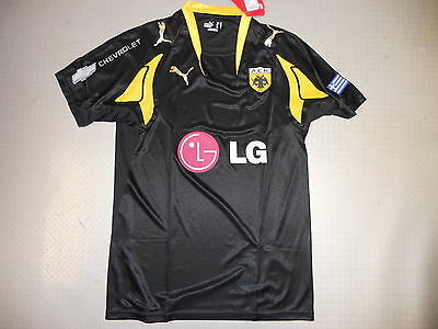 player Jersey AEK Athen Away 07/08 Orig. Puma Size S L player issue