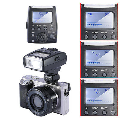 Neewer MK-300 TTL LCD Flash Light Speedlite for Sony A7 A7R A7S A6000 Camera