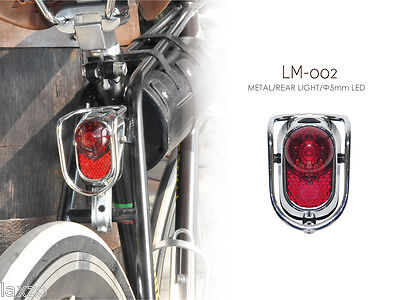 Kiley Retro Vintage Classic Style Rear Bicycle Light / Tail Led Light - LM - 002