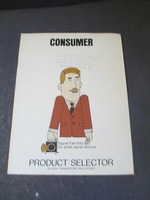 Vintage Fairchild Semiconductor Consumer Amplifier Product Selector Guide 1967