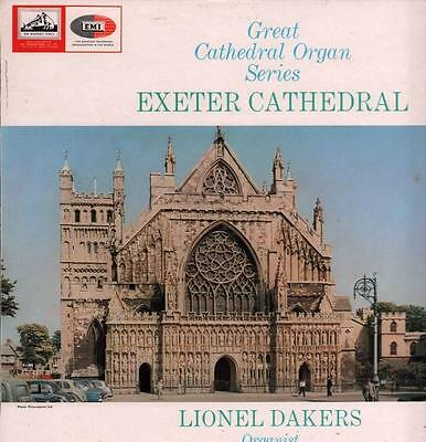 Great Cathedral Organ Series(Vinyl LP)Exeter Cathedral-HMV-CSD 1622-UK-Ex/Ex