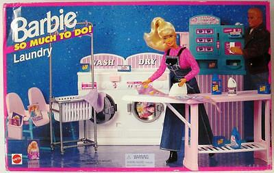 Barbie So Much To Do! Laundry Playset (New)