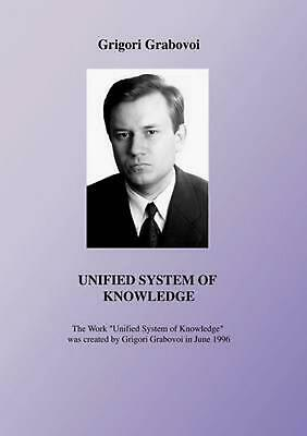 Unified System of Knowledge by Grigori Grabovoi (English) Paperback Book Free Sh