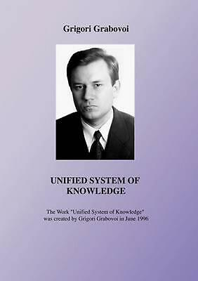Unified System of Knowledge by Grigori Grabovoi Paperback Book (English)