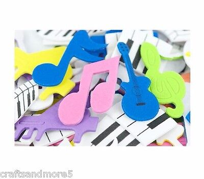 65 Music Foam Stickers ~ Great For Scrapbooking and Decorating