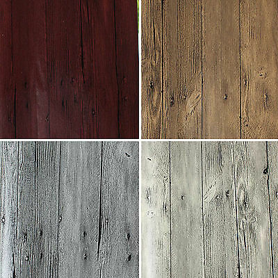 Wood Sheet Wall Tile Grain Decorative Vinyl Wall Paper Film, no adhesive #N62