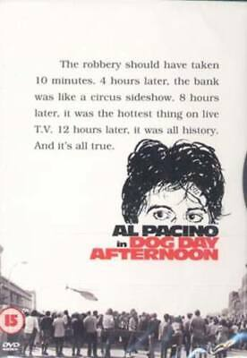 Dog Day Afternoon DVD (1998) Al Pacino, Lumet (DIR) cert 15 Fast and FREE P & P
