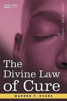 The Divine Law of Cure by Warren F. Evans (English) Paperback Book Free Shipping