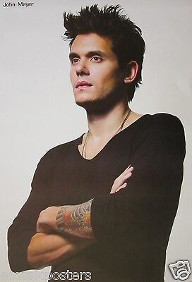 """JOHN MAYER """"STANDING, ARMS FOLDED POSTER FROM ASIA-Battle Studies Photo Sessions"""