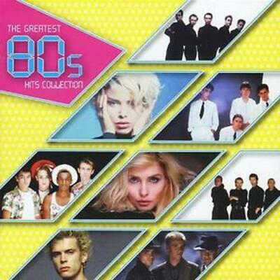 Various Artists : The Greatest 80s Hits Collection CD 2 discs (2006) Great Value