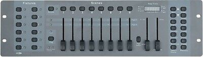 Showtec SM-8/2, 16 Kanal Lighting Desk Channel