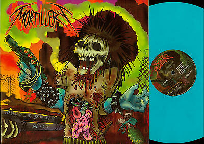 LP--Murder Death Kill  Mortillery Türkis Vinyl