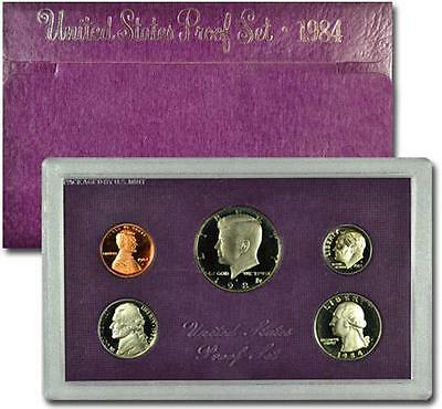 1984-S United States Clad Proof Set In (Original Mint Packaging) SKU1430
