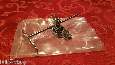 1/4 Patchwork Quilting Foot Singer 221 Featherweight Metal Adjustable Guide