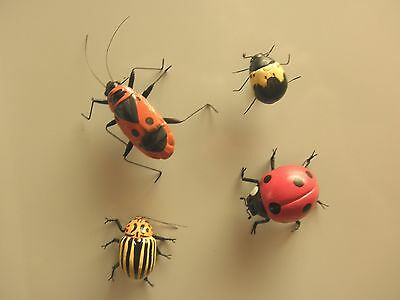 Set of 4 Insect Magnets