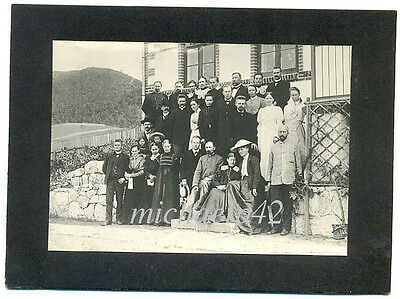 Danish Missionery Society in China Staff Real Photo 1900s