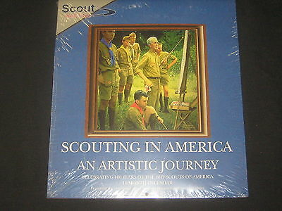 Scouting in America An Artistic Journery 16 Month Calendar       j7