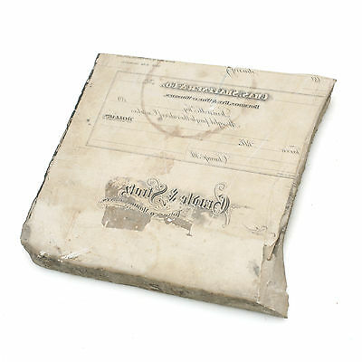 """8"""" x 8"""" x 1"""" Thick Lithographic Stone"""