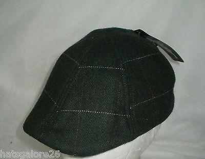 Baby Flat Cap Young Child Duckbill Peak Dark Green 50Cm 1/2Yrs To 4/8 Yrs (3093)