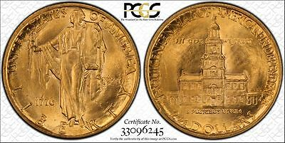 1926 $2.5 Gold Commemorative Sesquicentennial Coin PCGS SECURE MS64