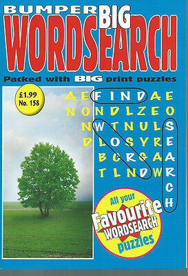 3 Bumper Word Search Magazines Most With 100+ Puzzles Solutions In Back (Set 33)