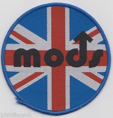MOD Union Jack Embroidered Patch Badge