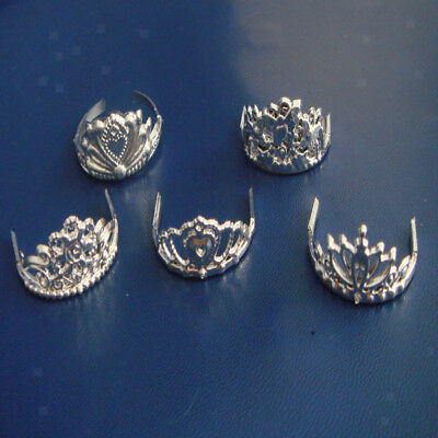 5pcs/Lot Vintage Jewelry Tiara Accs Crown for Barbie Dolls Mix Pattern NEW