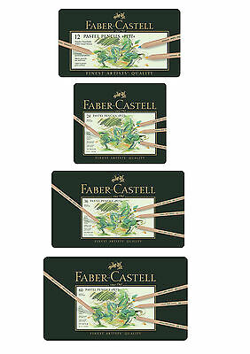 Faber-Castell Pitt Pastel Artists Pencils Assorted Colors - From Set of 12 to 60