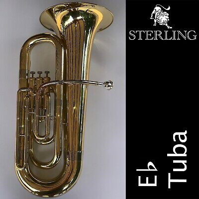 STERLING Eb Alto Horn (Three Valve Eb Tenor Horn) • Brand New • Great Quality •