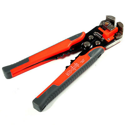 New Automatic Cable Wire Crimping Tool Stripper Self Adjustable Plier Cutter