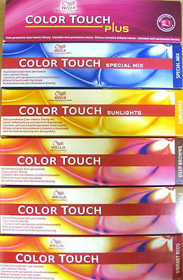 Wella Color Touch Tönung Wahl  ALLE Nuancen dt.Ware Coloration #0 (€15,82/100ml)