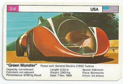 "Top Trumps - World Record Holders - Card 2D - ""green Monster"" (Ampk)"