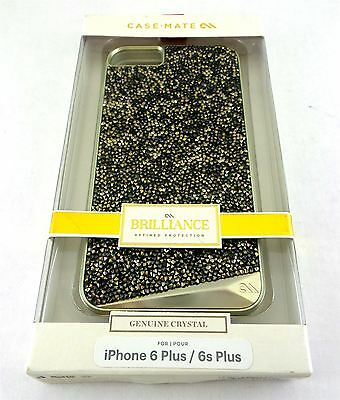 Case-Mate Brilliance Champagne Case Gold Apple iPhone 6 Plus & 6s Plus CM031437