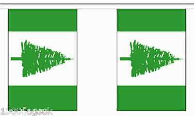 Australia Norfolk Island Territory Polyester Flag Bunting 3m long with 10 Flags