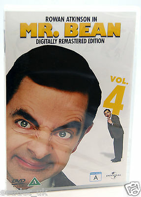 Mr Bean Series 1, Volume 4 DVD NEW SEALED Comedy Digitally Remastered
