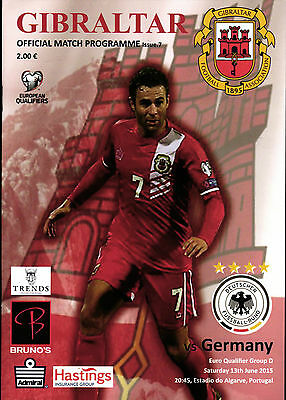 Euro Qualifier 13.06.2015 Gibraltar - Germany