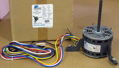 3784 A/C Blower Motor 1/4 HP 230 V 1075 RPM for Goodman Janitrol B13400313S