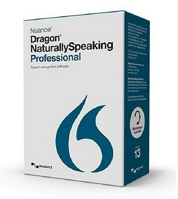 Nuance Dragon Naturally Speaking Professional Version 13