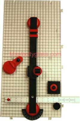 Stained Glass Supplies Beetle Bits Mini System - cut repetitive cuts easily
