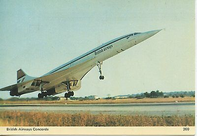 First Flight / Concorde / Cp / British Airways / Bristol Bordeaux 1976 / London