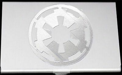 STORM TROOPER IMPERIAL EMBLEM Star Wars Engraved Business ID Card Case BUS-0250