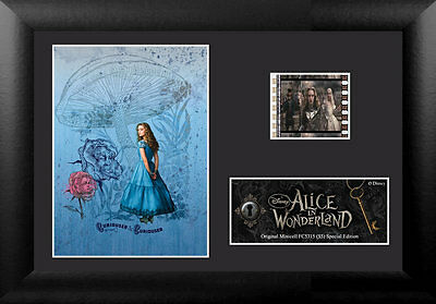 Film Cell Genuine 35mm Framed & Matted Alice In Wonderland Special Ed USFC5315